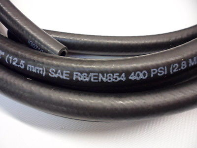 Gates 100R6 Oil Cooler Rubber Push-on Hose 1/2 Inch 12.5mm Bore : gates transmission oil cooler hose - www.happyfamilyinstitute.com